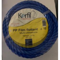 CORDE PP FILM FLOTTANT BLEU