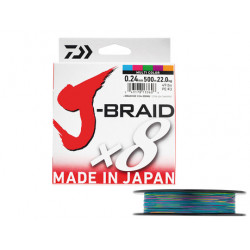 TRESSE J-BRAID X 8 MULTI...
