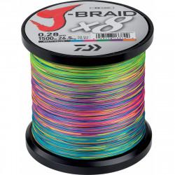 TRESSE J BRAID X8 MULTI...