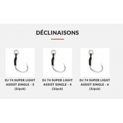 DJ 74 SUPER LIGHT ASSIST...